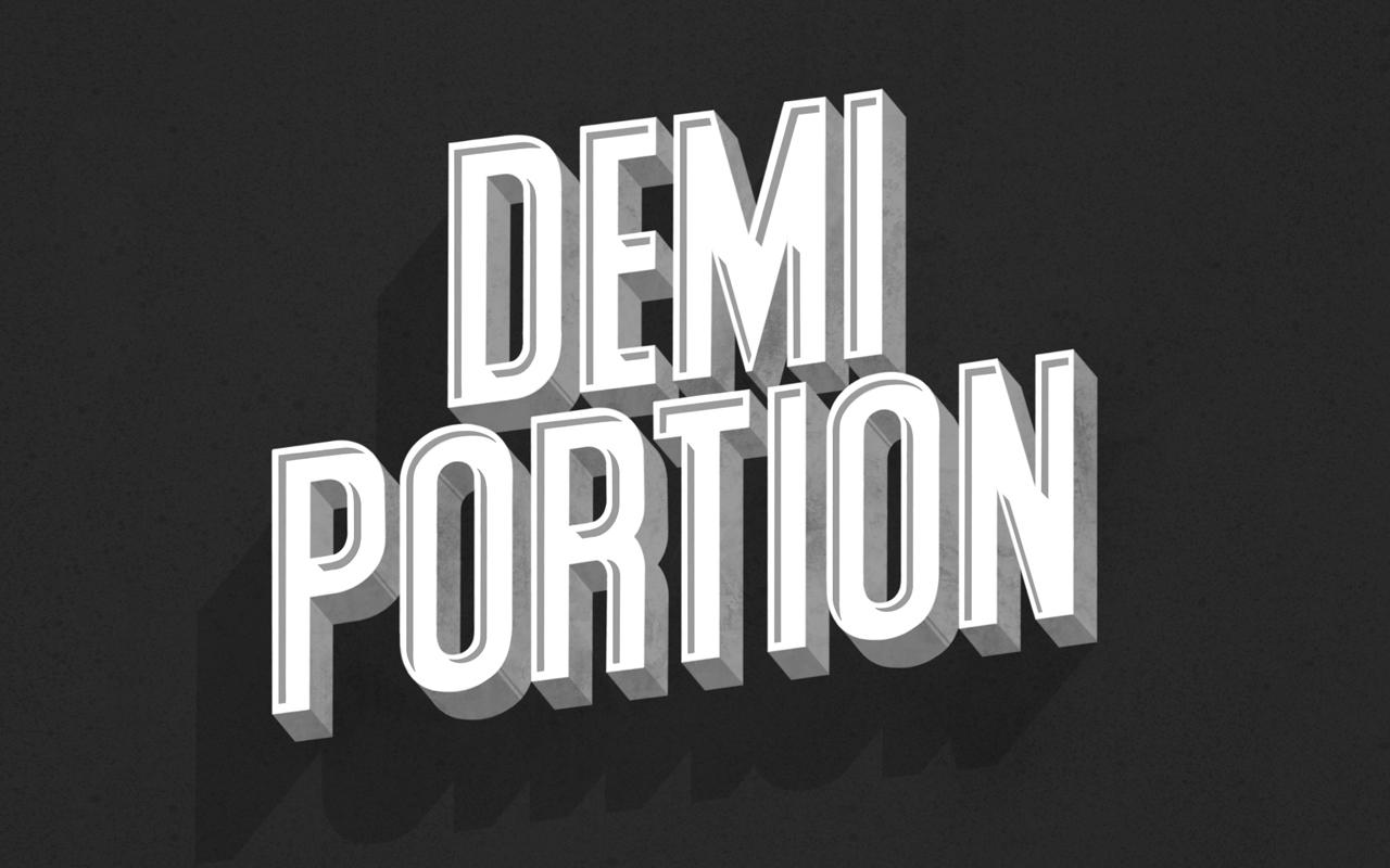 <span>DEMI PORTION</span><i>→</i>